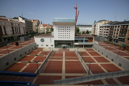 The inner square of ARTIUM