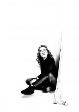 Cristina Rivera Garza. Ilustración de Iñaki Landa